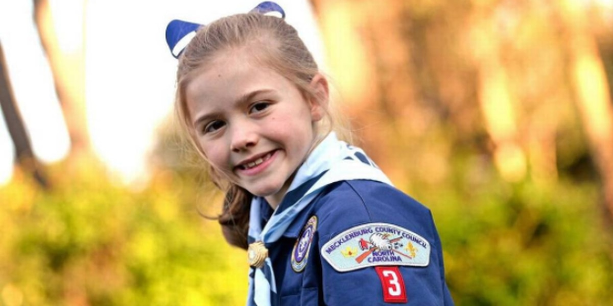 Meet the second-grader who will be Mecklenburg County's first girl Cub Scout