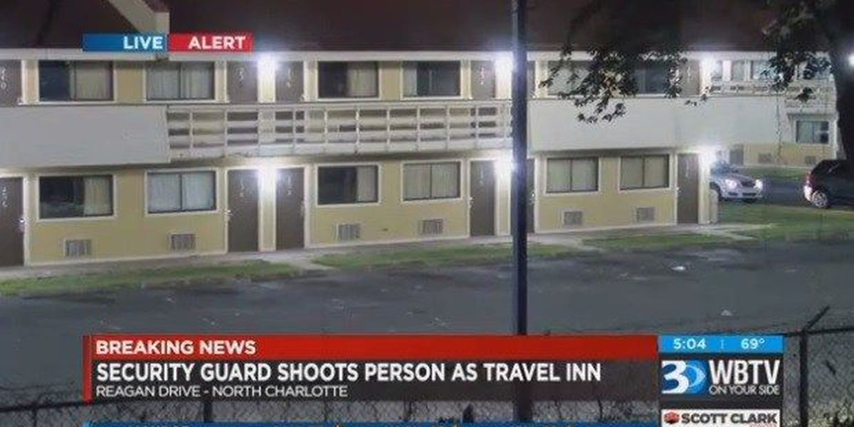 CMPD: Security guard shoots, seriously injures man at northeast Charlotte motel