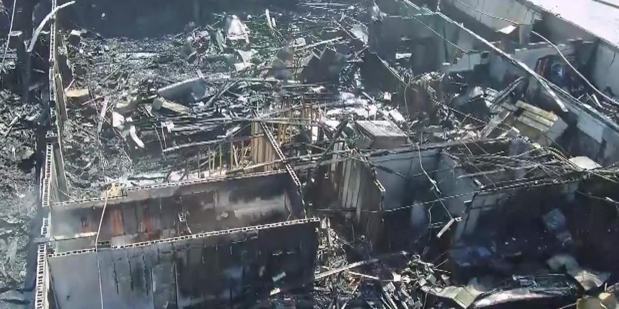Fire destroys Moose Lodge in Hopewell