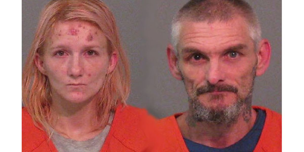 Police arrest a couple after finding used syringes in plain view of kids