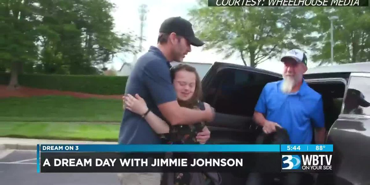 Dream On 3: A dream day with Jimmie Johnson