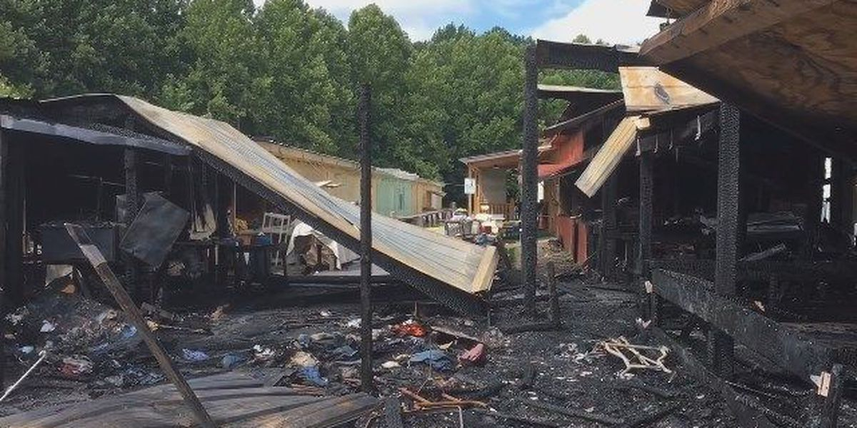 Cause of flea market fire still 'undetermined' as burned-out businesses vow to reopen