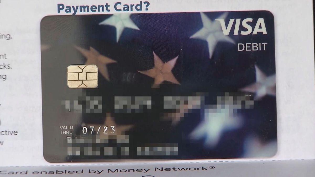 Don't throw away stimulus debit cards