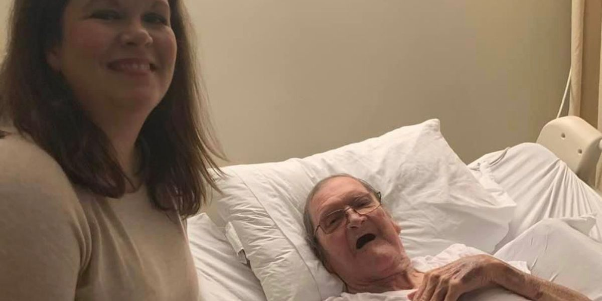 Daughter says veteran father now free of coronavirus
