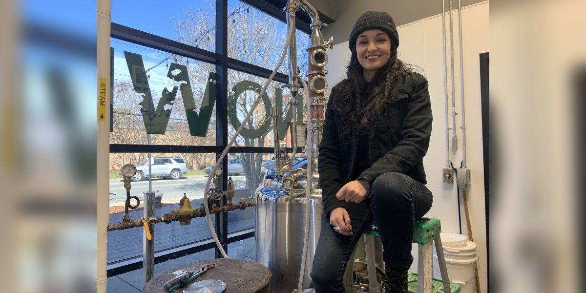 Charlotte herbalist becomes 'Master Distiller' after using skills for COVID-19 relief