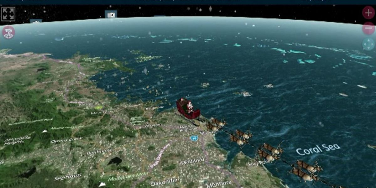 NORAD's Santa tracker website is operational for Christmas