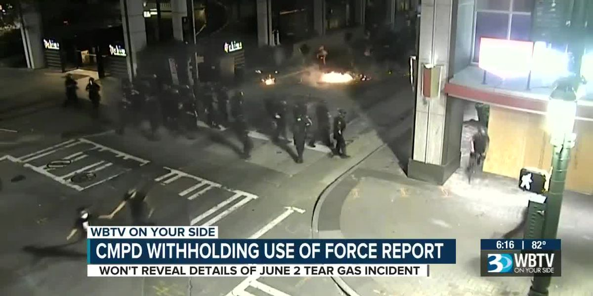 CMPD withholding use of force report