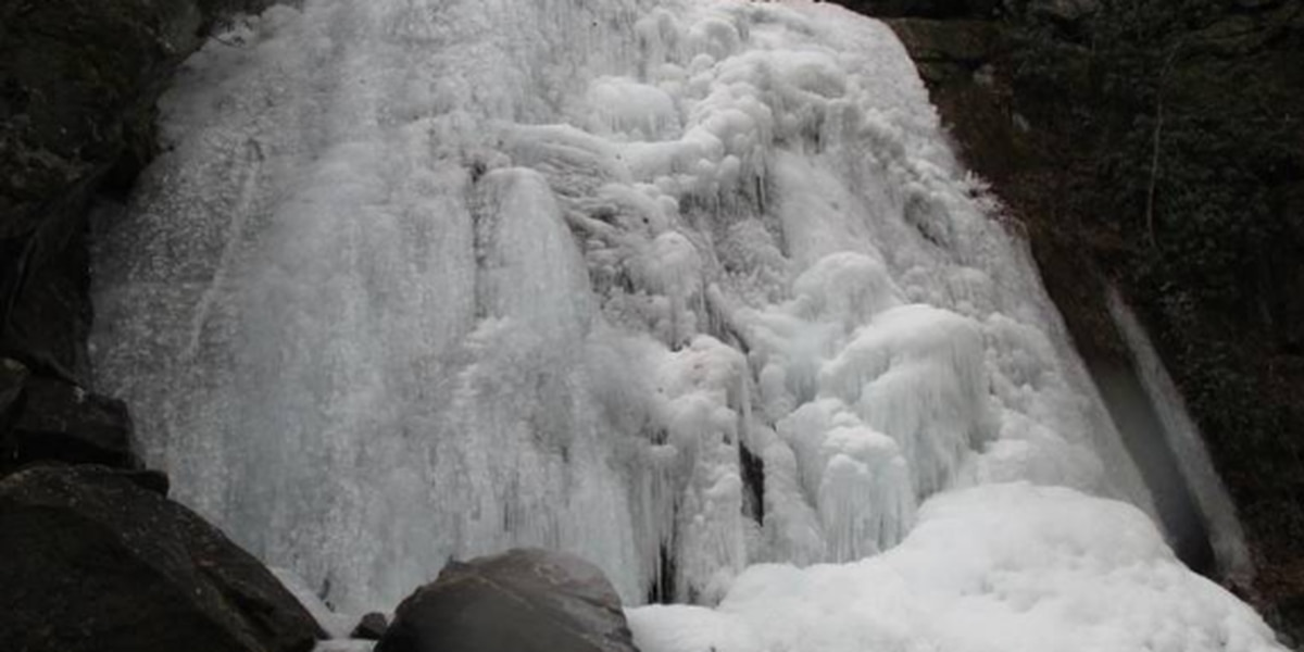 NC waterfalls freeze into stunning ice sculptures. Here's where you can see some.