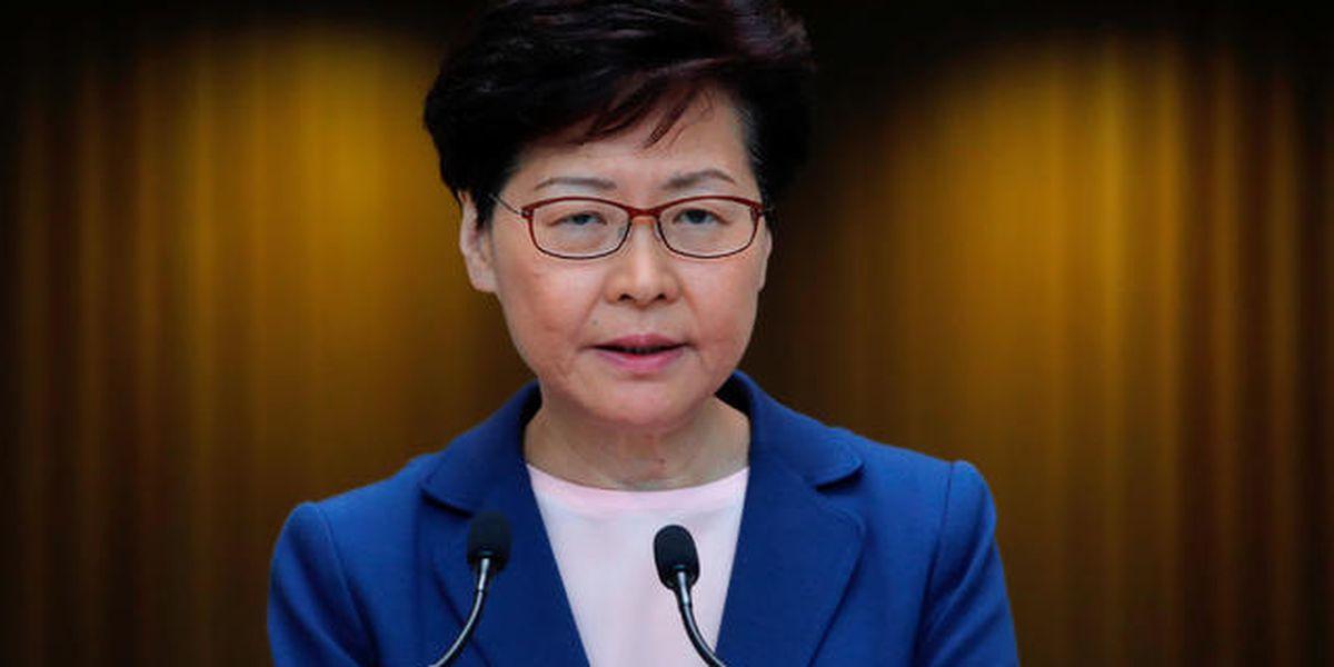"""Hong Kong fires back at """"shameless"""" U.S. sanctions"""