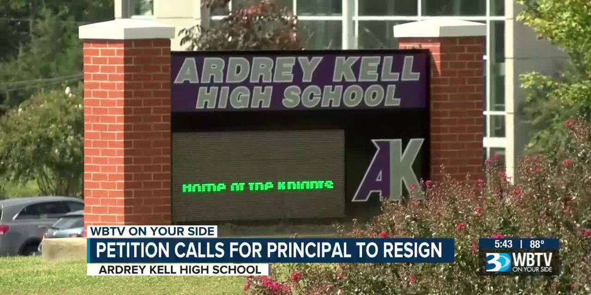 Petition calls for Ardrey Kell HS Principal to resign