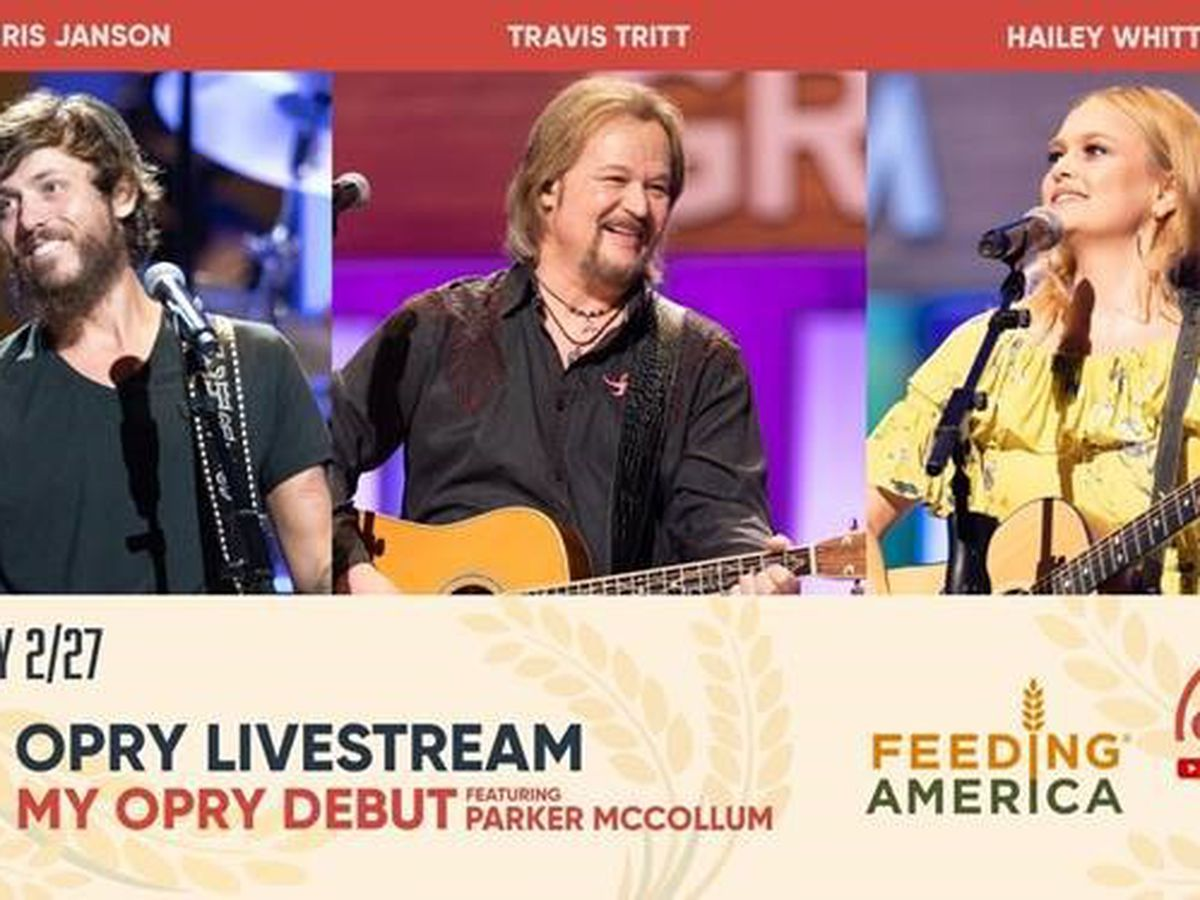 Opry live stream to raise money to support people suffering from storms, pandemic