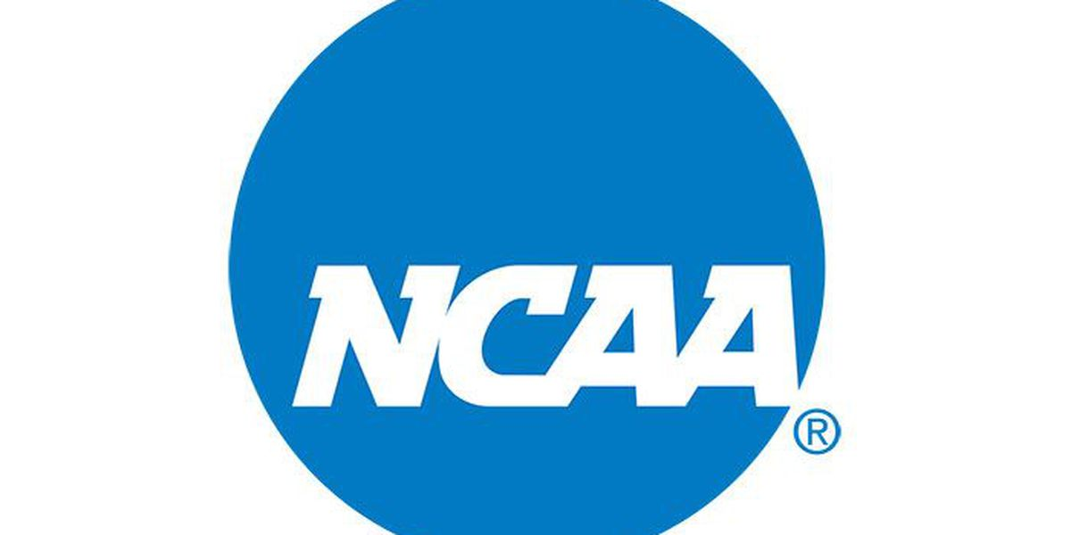 NCAA events from 2019-2022