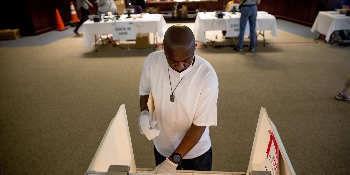 Polls start closing as voters navigate protests, coronavirus