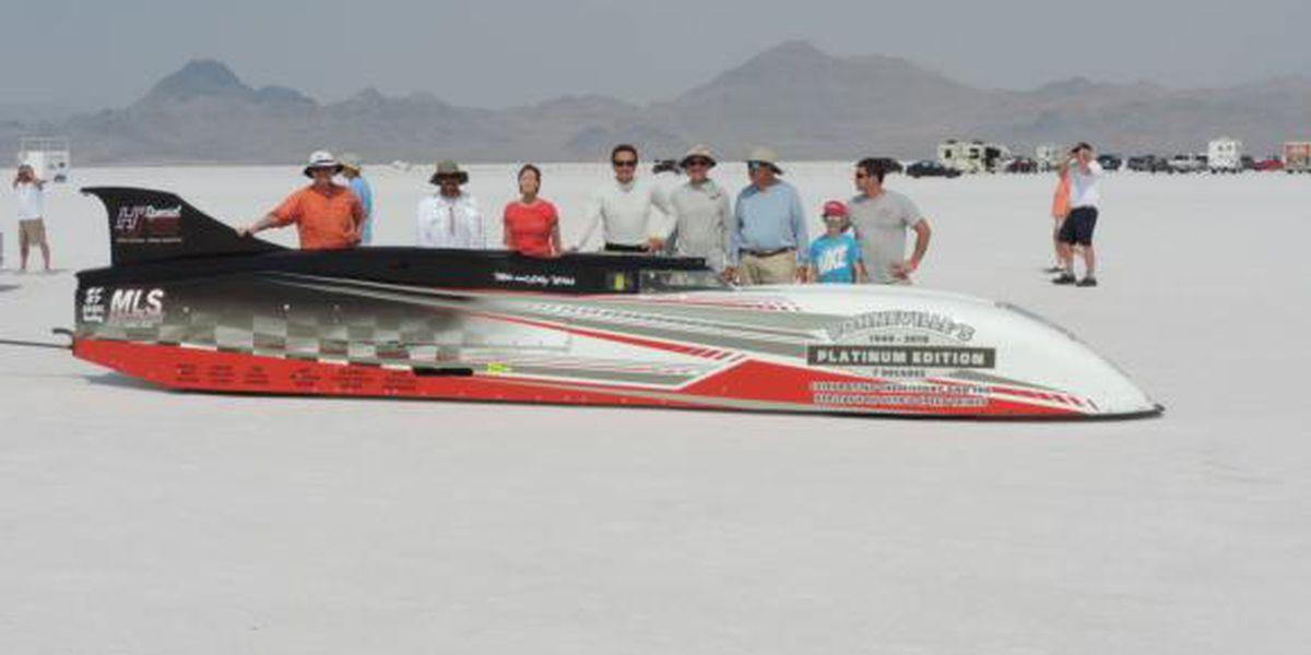 Bonneville Salt Flats race cars take center stage at Pennzoil AutoFair