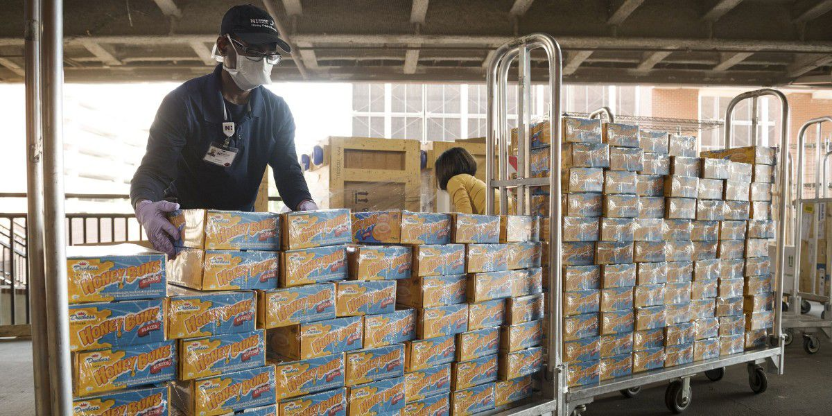 More than 4,600 Honey Buns donated to Charlotte medical personnel