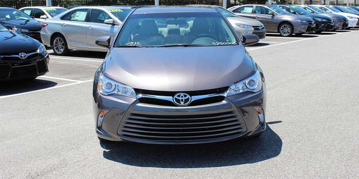 The 2016 Toyota Camry has arrived at Toyota of N Charlotte!