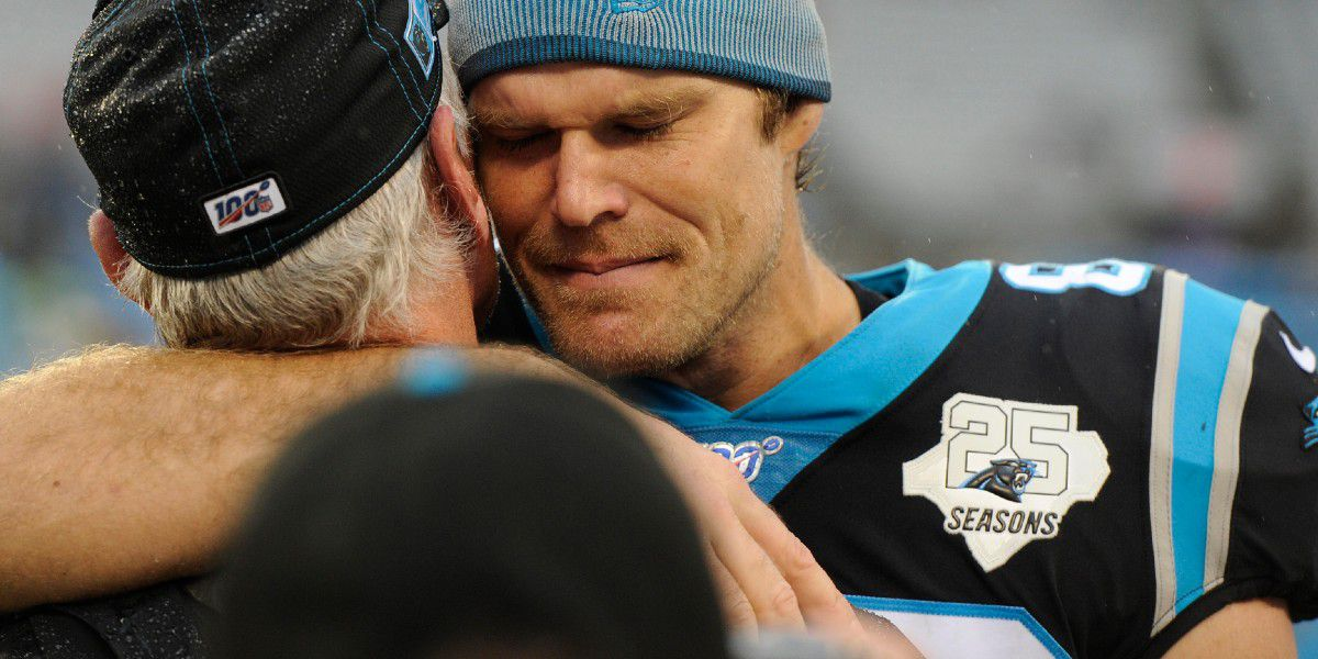 "Greg Olsen on Charlotte being ""home,"" his charity and why he's joining the Seahawks"
