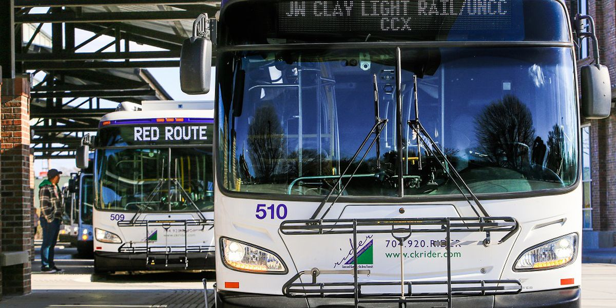 Fares suspended on Rider Transit in Cabarrus County