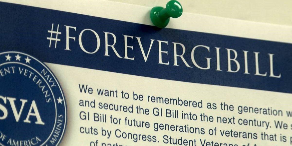 Student veterans eager for 'forever' GI Bill