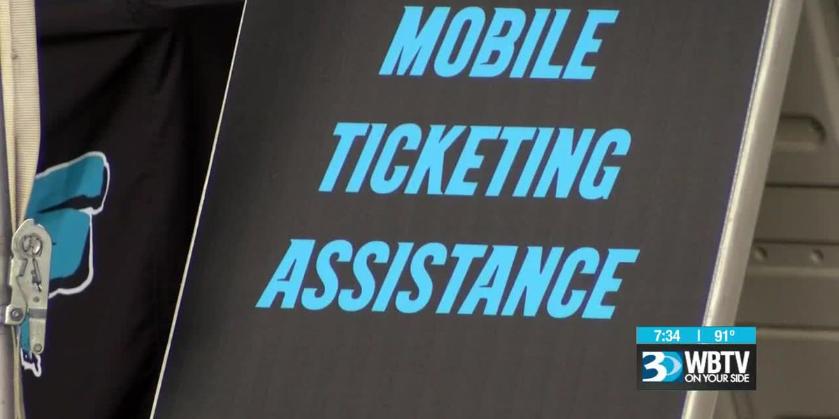 No more print-at-home or paper tickets for Carolina Panthers fans
