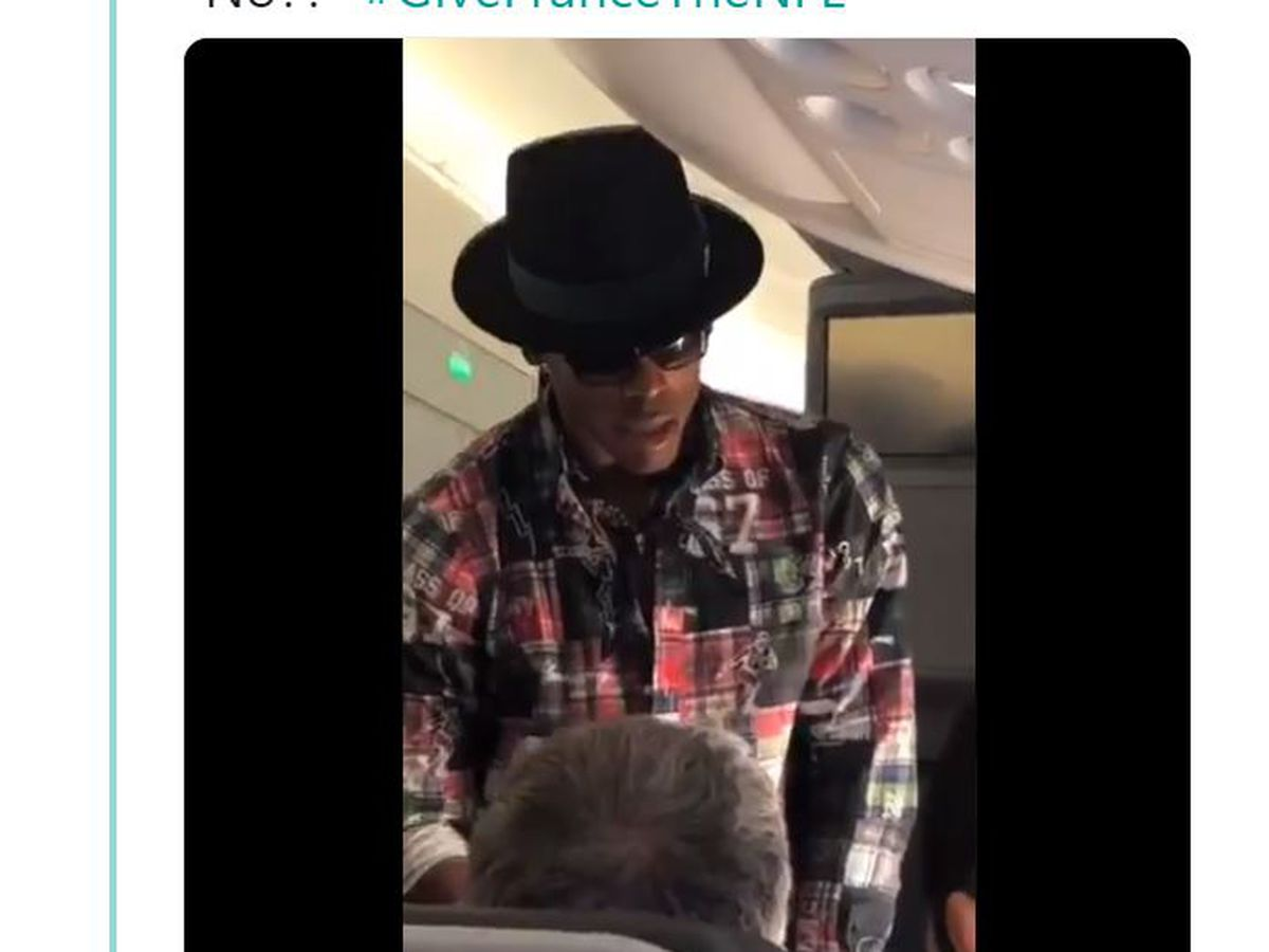 Panthers: Cam Newton offers big money for better airplane seat. Gets turned down.