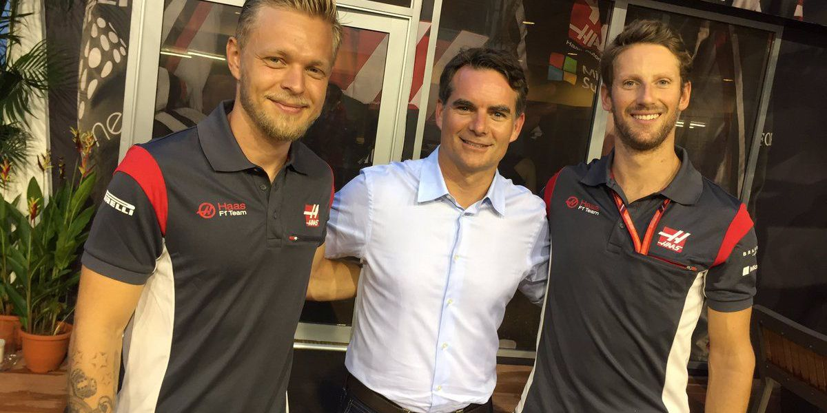 Another points-scoring finish for Kannapolis based Haas F1 Team