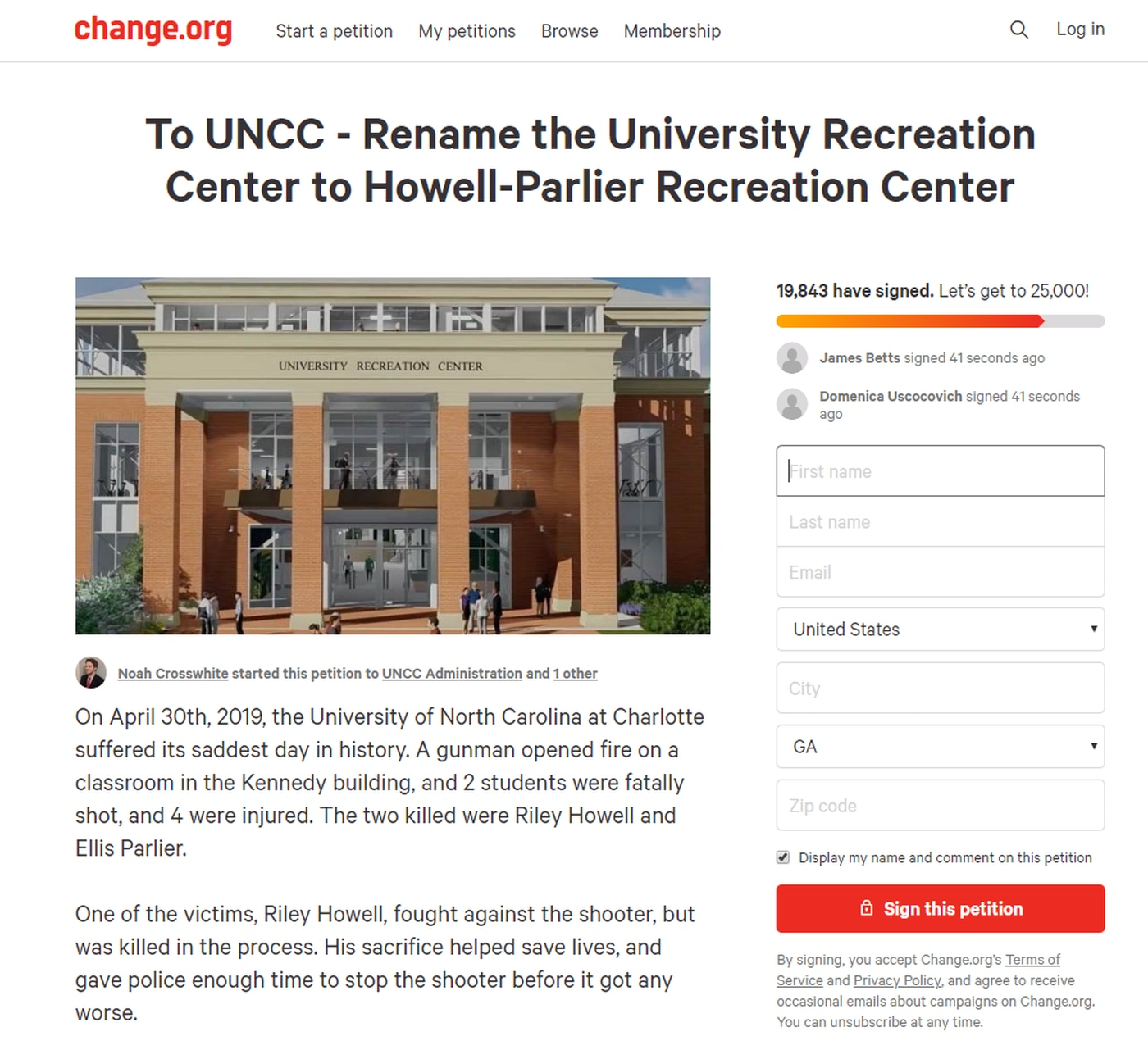 Uncc Calendar.Students Petition To Rename Building In Honor Of Unc Charlotte