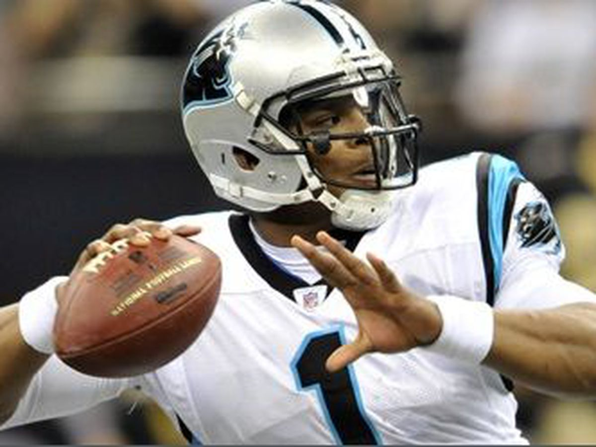 Cam Newton learning to play through pain