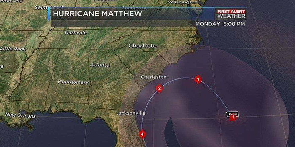 BLOG: Hurricane Matthew continues to pull away from SC coast