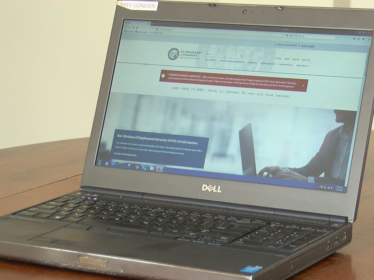 Nearly 450,000 North Carolinians file for unemployment