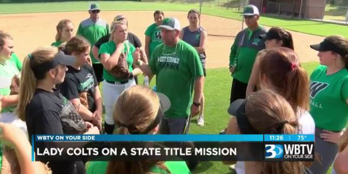 West Stanly softball on a state championship mission