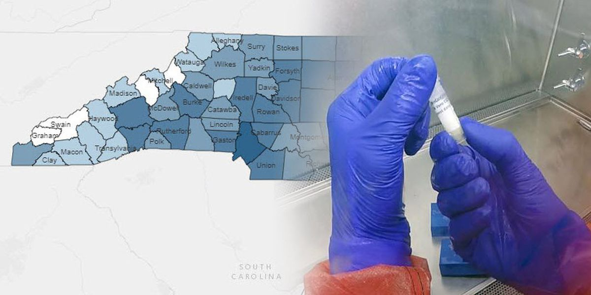 North Carolina reports 400+ new COVID-19 cases, deaths now at 452
