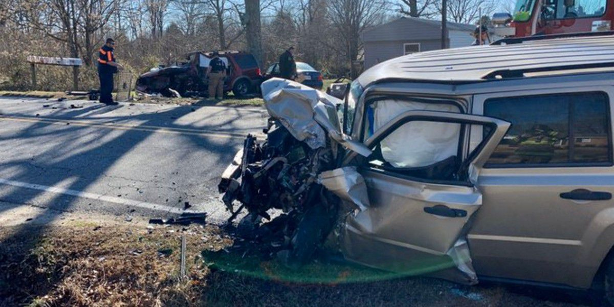 10 firefighters rescue person in head-on collision in Conover, 2 taken to hospital