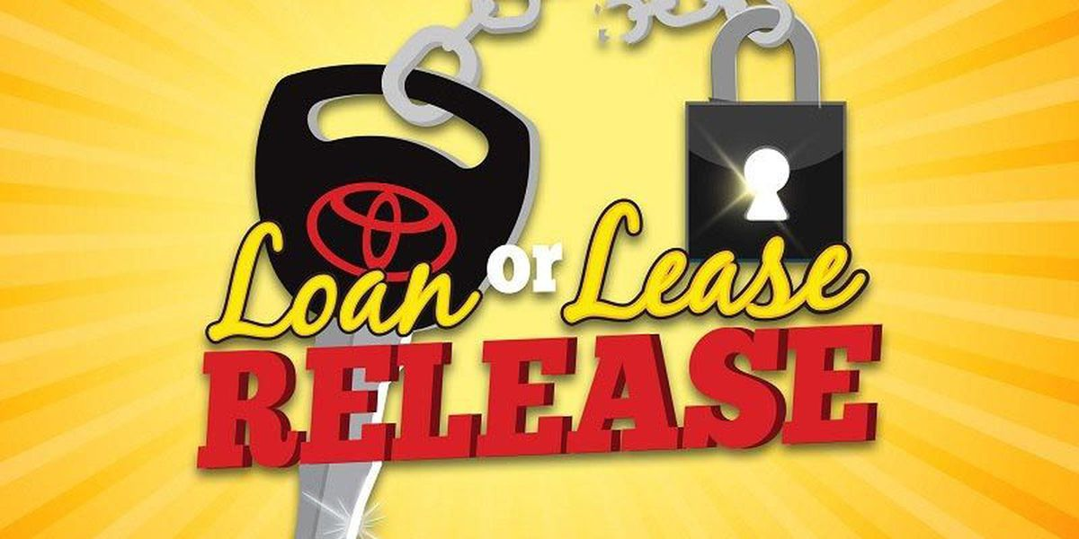 Free yourself from your loan or lease payment at the Loan or Lease Release event!