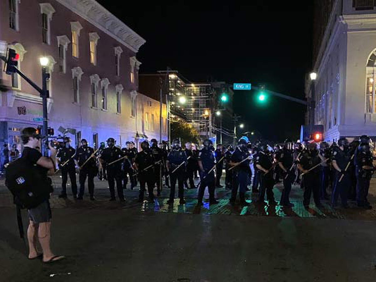 Curfew now in effect in Charleston County following George Floyd protests
