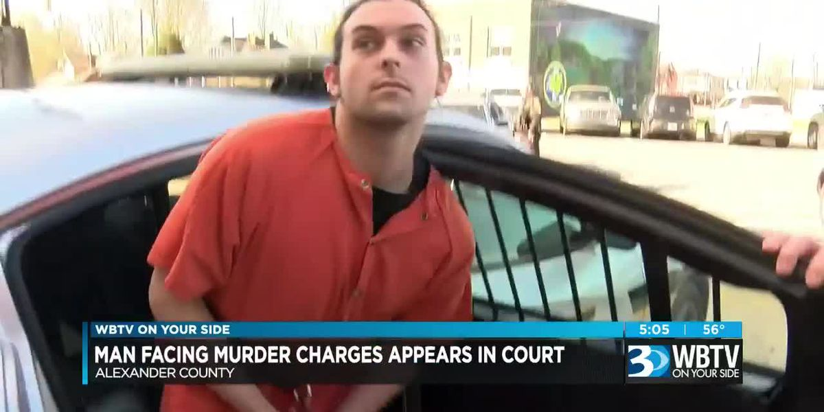 Man facing murder charges appears in court