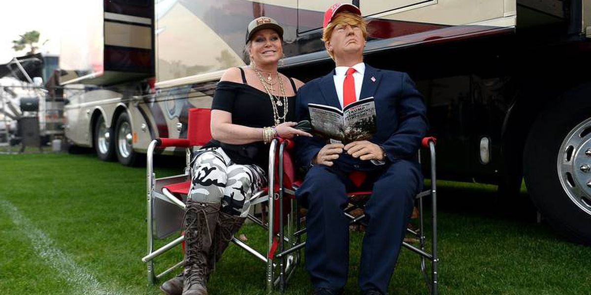 The Daytona 500 is Trump Country. President is playing to his audience at NASCAR race.