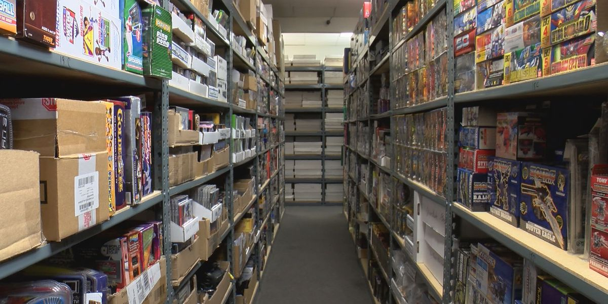 Attention gaming nerds, world's largest-known collection of games & toys being sold in Wilmington