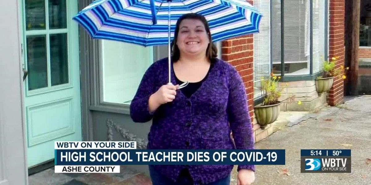Ashe County community stunned after teacher dies from COVID-19