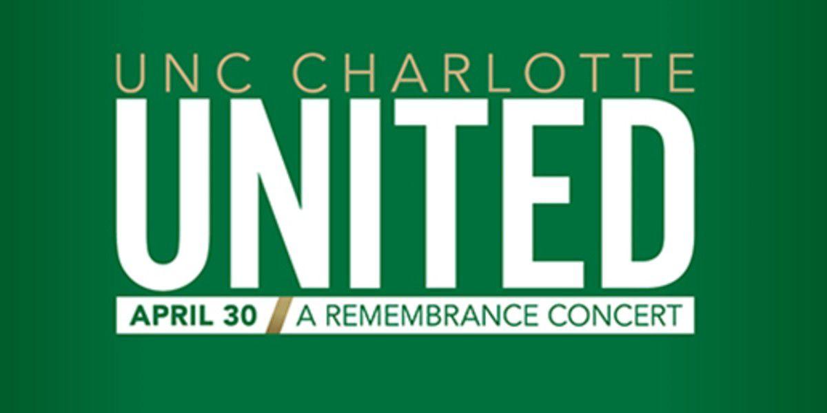 United: UNC Charlotte to host April 30 remembrance concert