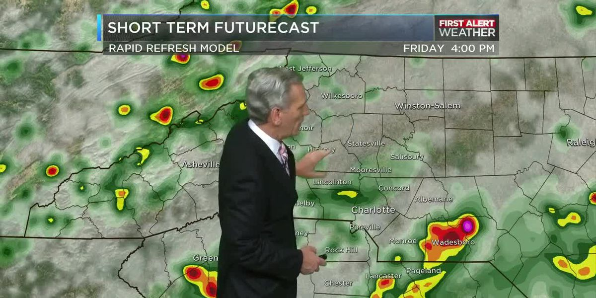 Storms likely again on Friday