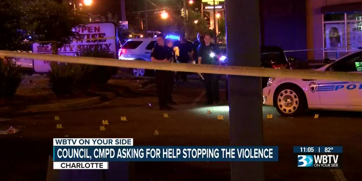 Council, CMPD asking for help stopping the violence