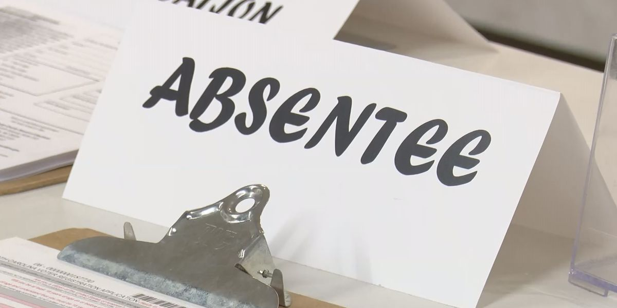 Mecklenburg Co. Director of Elections speaks about absentee ballots being sent out Friday