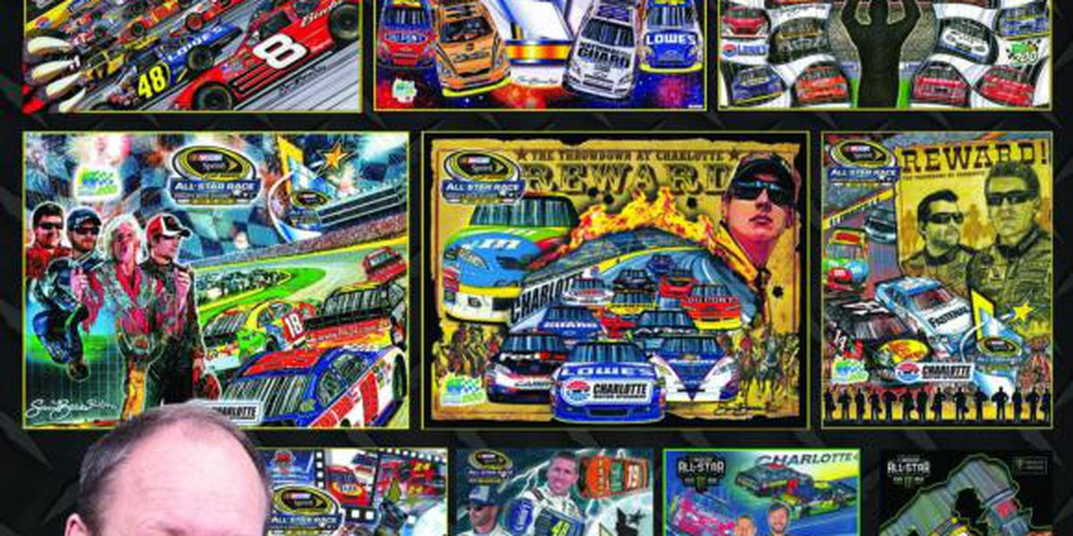 Charlotte Motor Speedway to honor late Sam Bass with posters