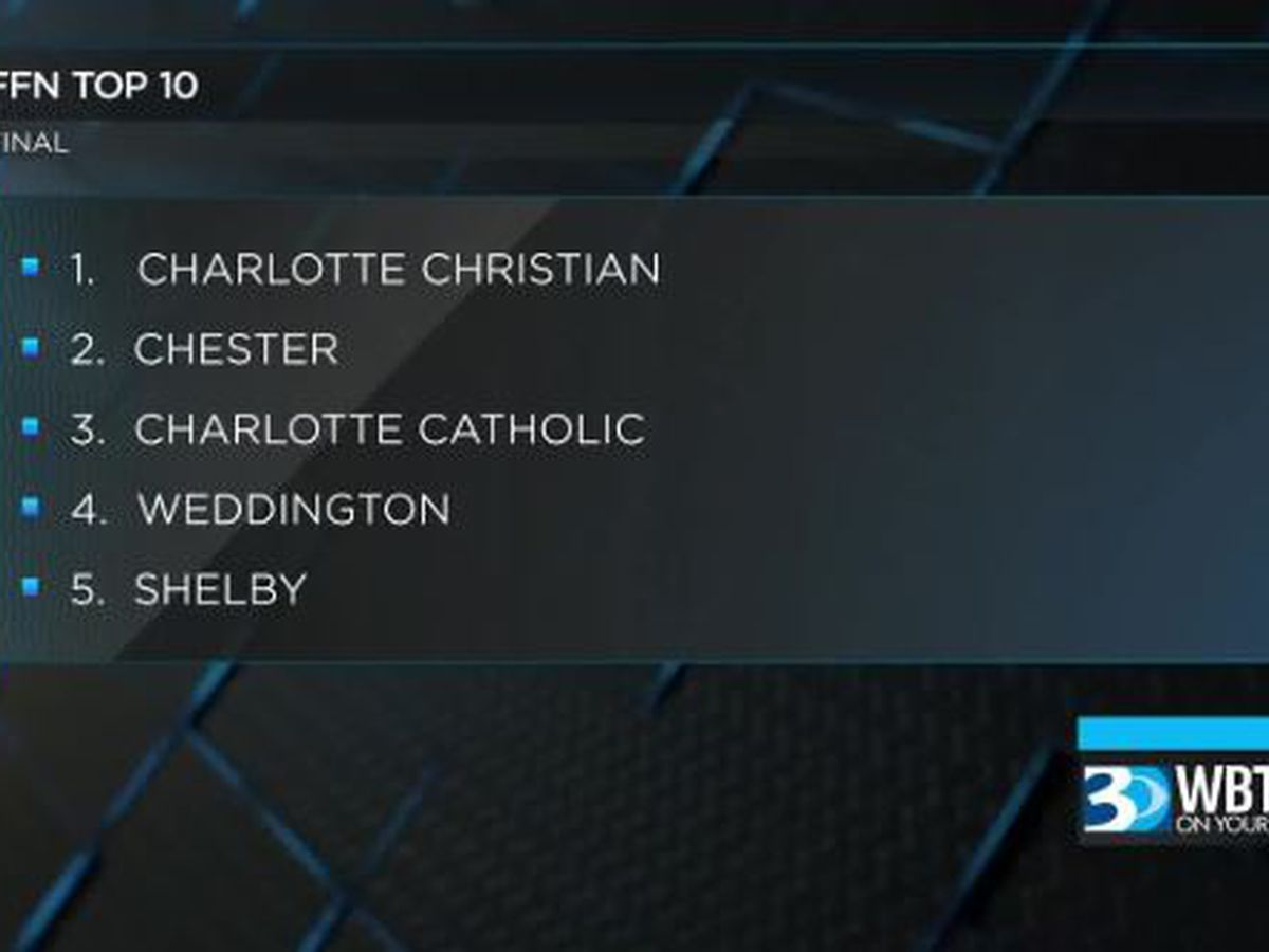 Charlotte Christian is the FFN Team of the Year
