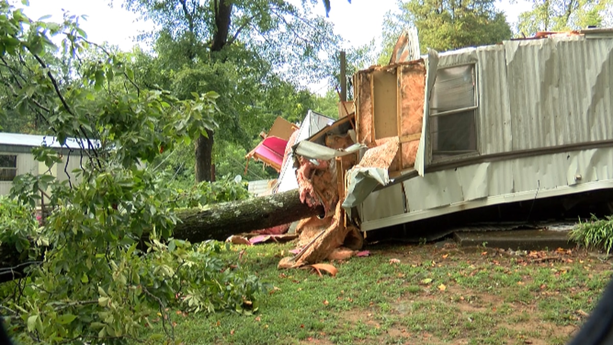 Downed trees destroy multiple homes, injure one Charlotte woman