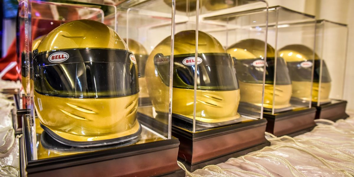 Cabarrus County CVB recognizes hospitality professionals with Golden Helmet Awards