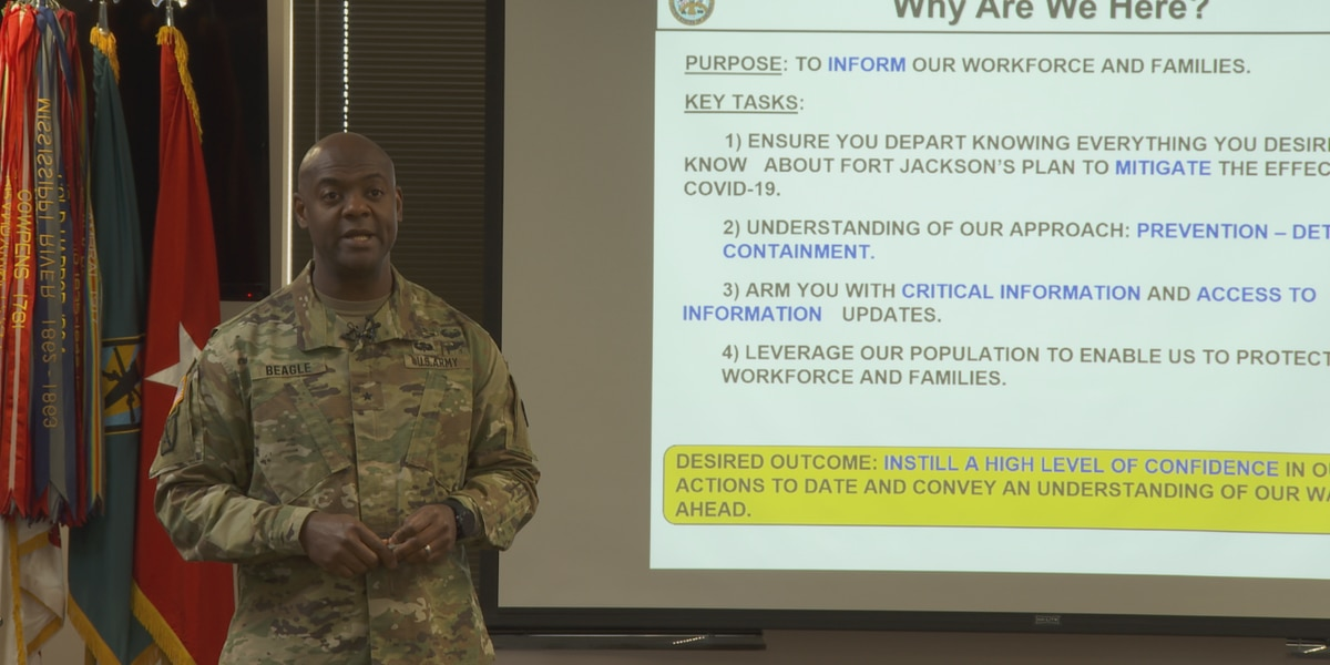 Fort Jackson officials say soldier in training tested negative for coronavirus, share protocols and plans