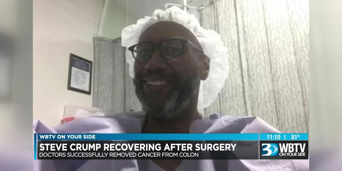 WBTV's Steve Crump recovering after successful surgery
