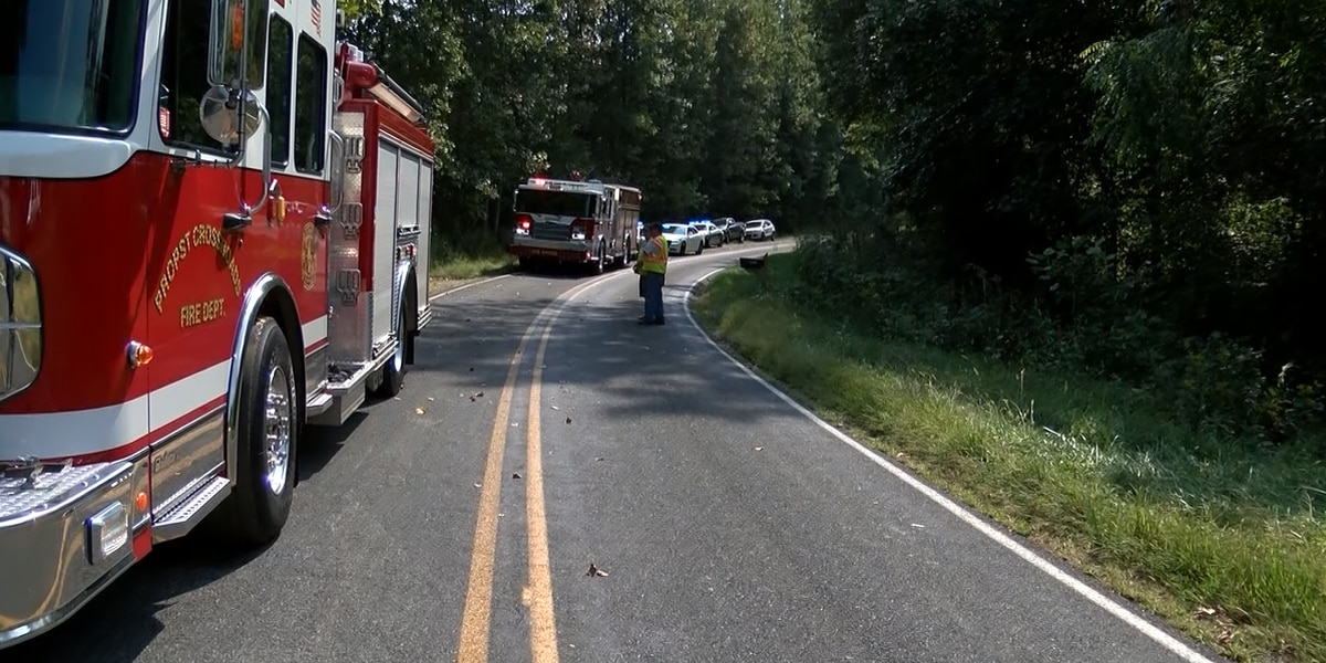 Man dies after car runs off road, flips in Catawba County